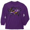 MD Purple Flag Crab Ladies Long-Sleeve T-Shirt