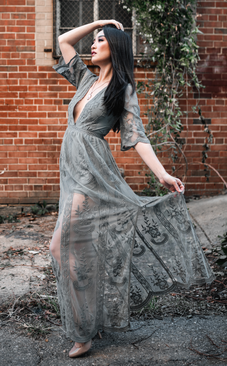 Live to Love Sage Maxi Dress