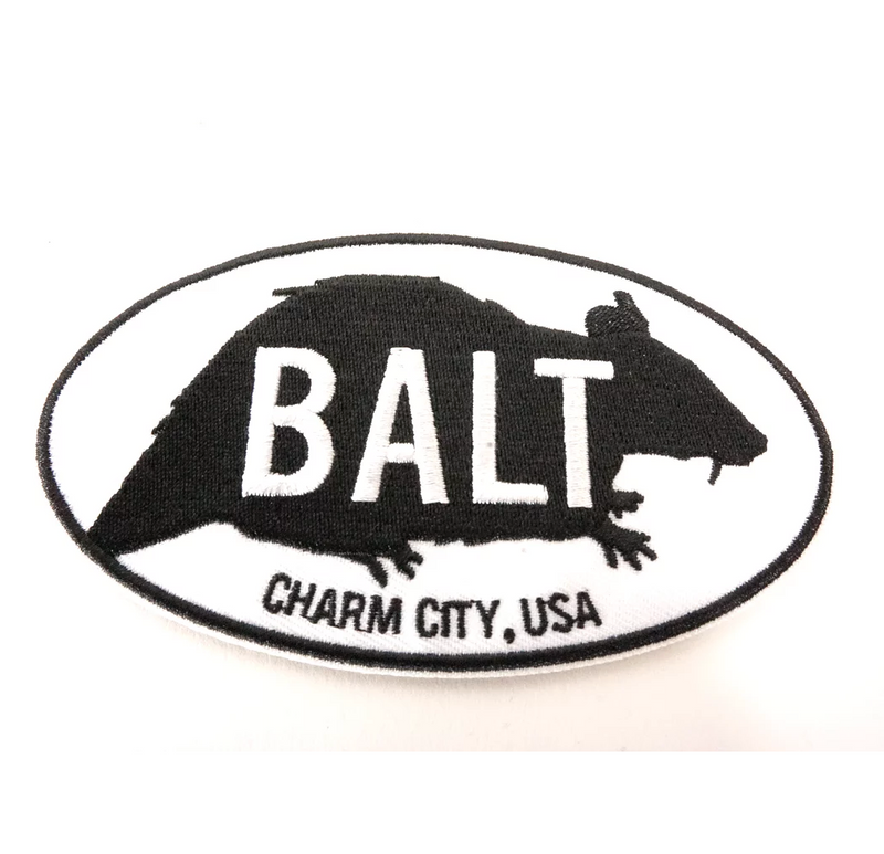 Baltimore rat patch by Rat Czar