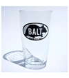 Ratzilla silicone pint glass (Marbled) by Rat Czar