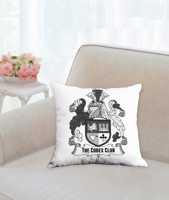 The Codex Club Crest Pillow - thecodexclub