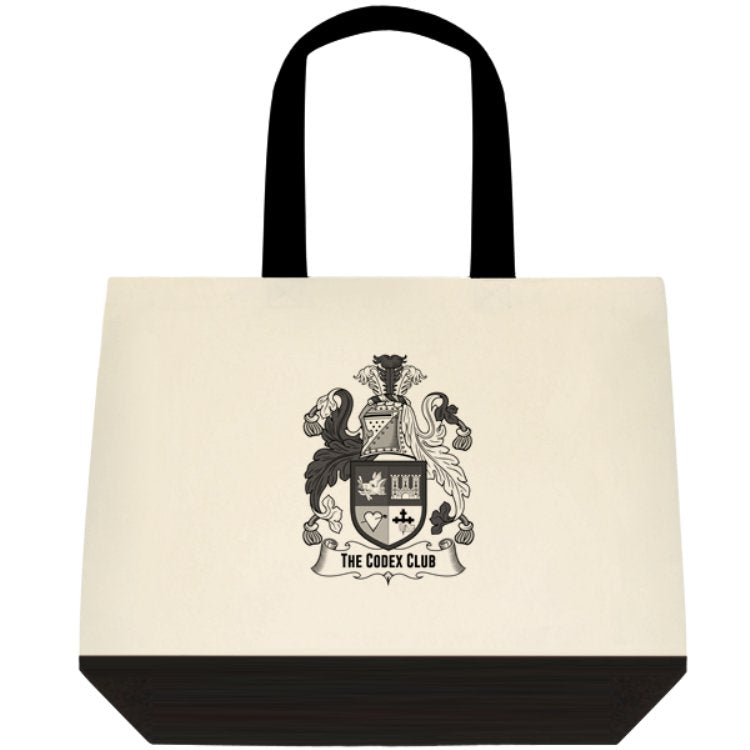 The Codex Club Crest Tote Bag - thecodexclub