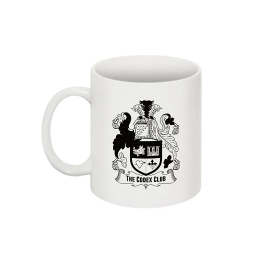The Codex Club Coat of Arms Mug - thecodexclub