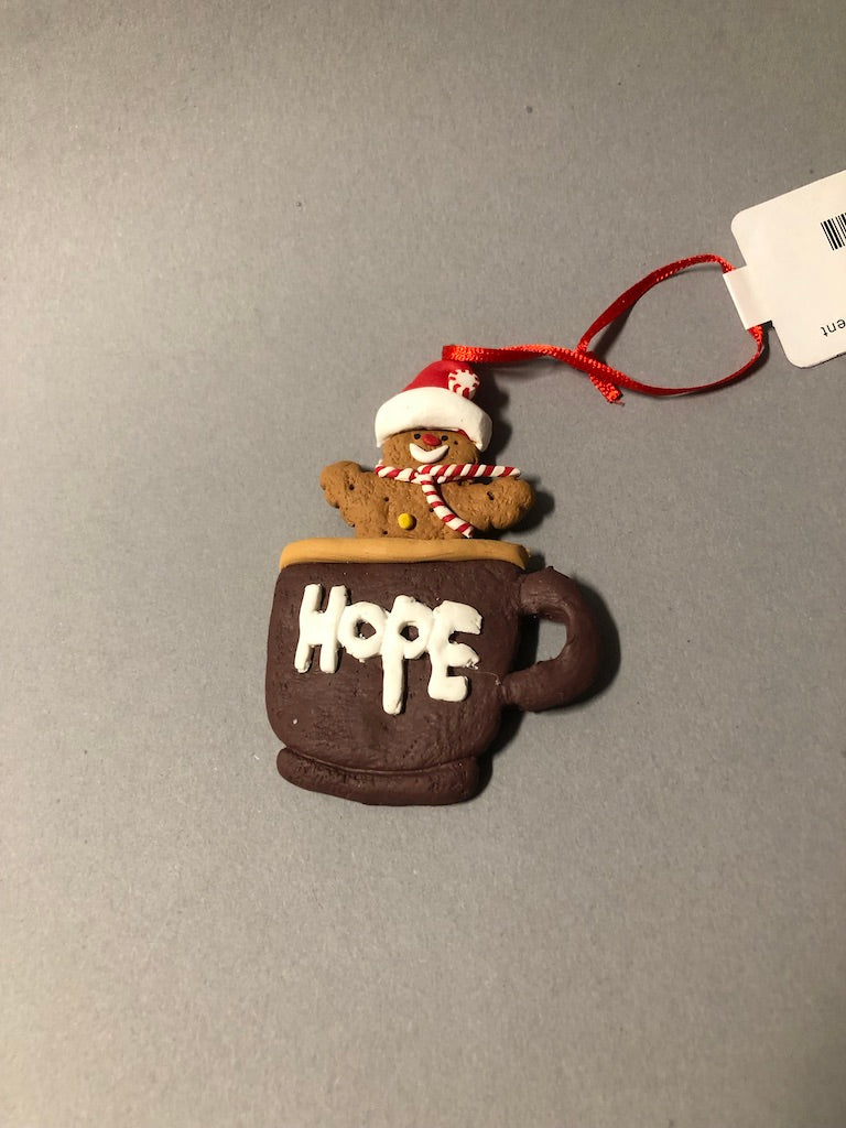 Gingerbread Holiday Ornament