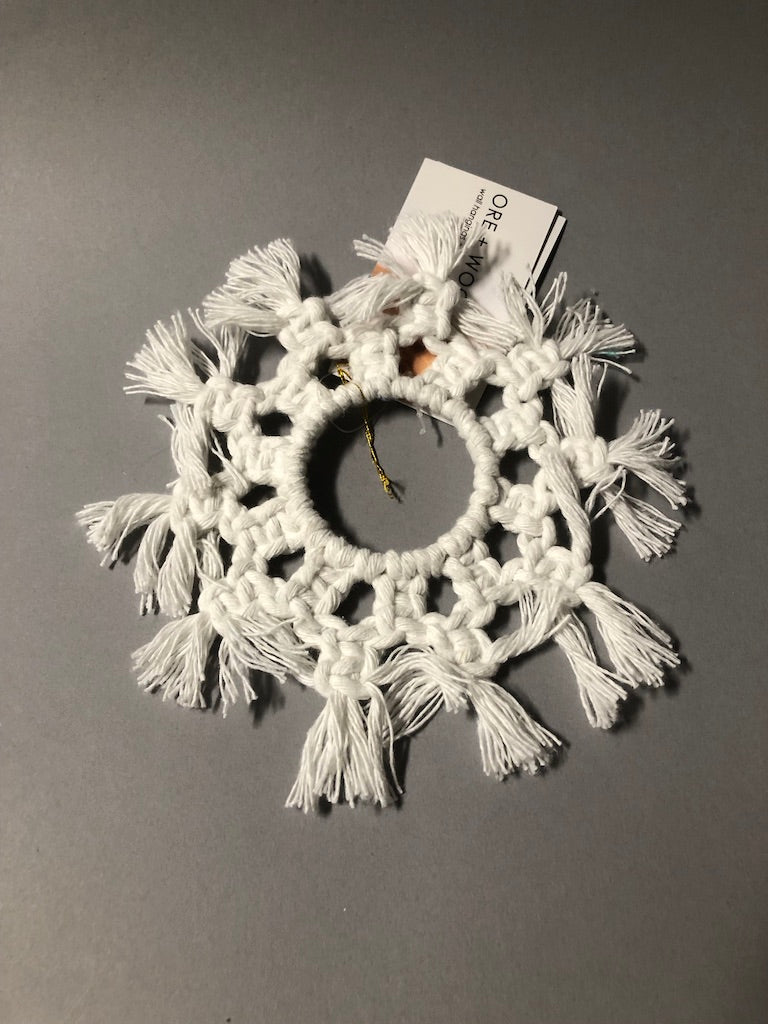 Snowflakes by ore + wool