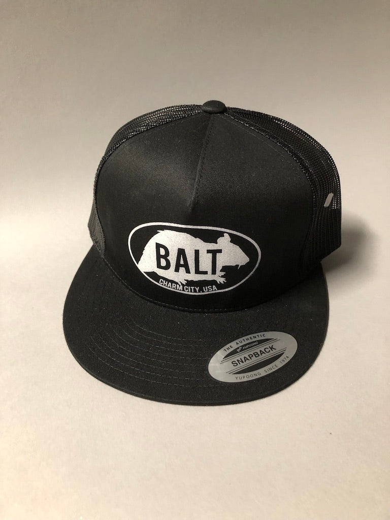 Balt Rat Embroidered trucker hat by Rat Czar