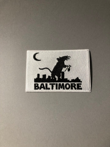 Baltimore Maryland Letterpress Coasters 5-pack