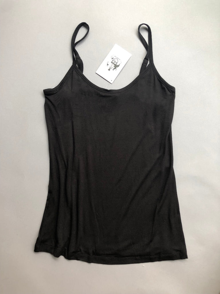 Soft Black Tank Top