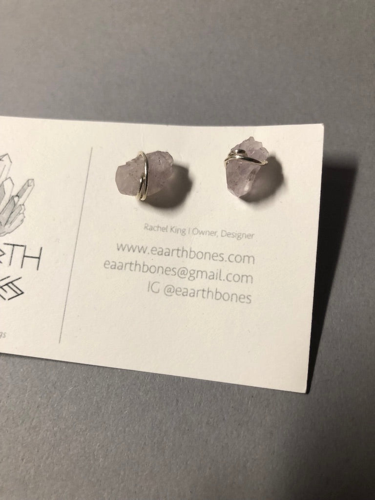 Earrings by Eaarthbones Jewelry