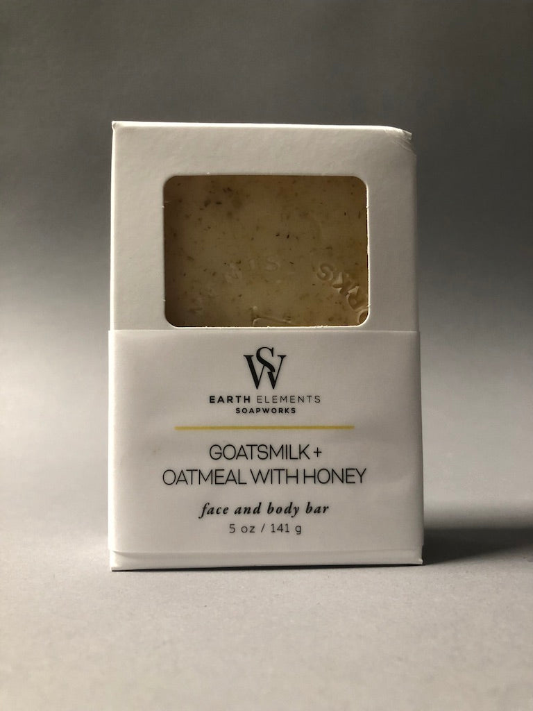 Goatsmilk Oatmeal Honey Soap by Earth Elements Soapworks