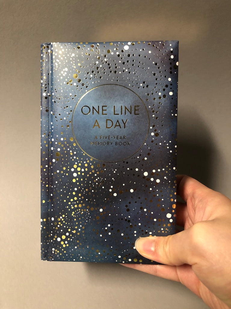 Celestial One Line a Day Book