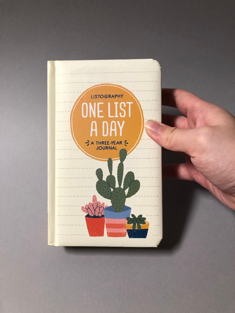 Listography: One List a Day (A Three-Year Journal)
