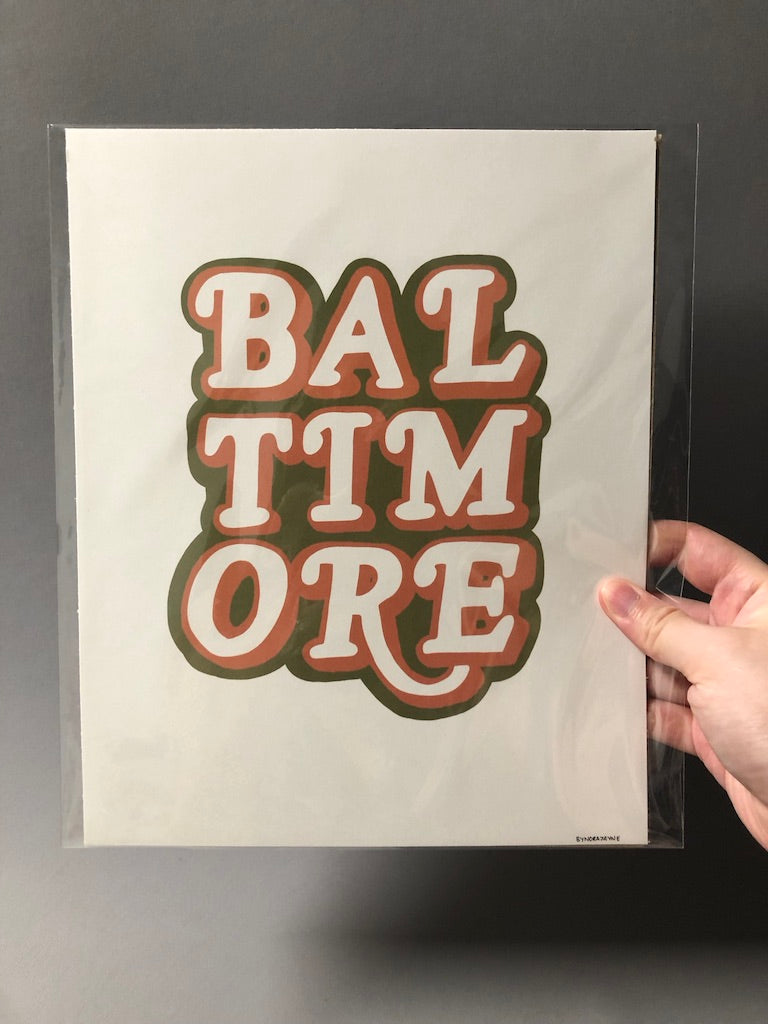 Baltimore Posters by Nora Jayne