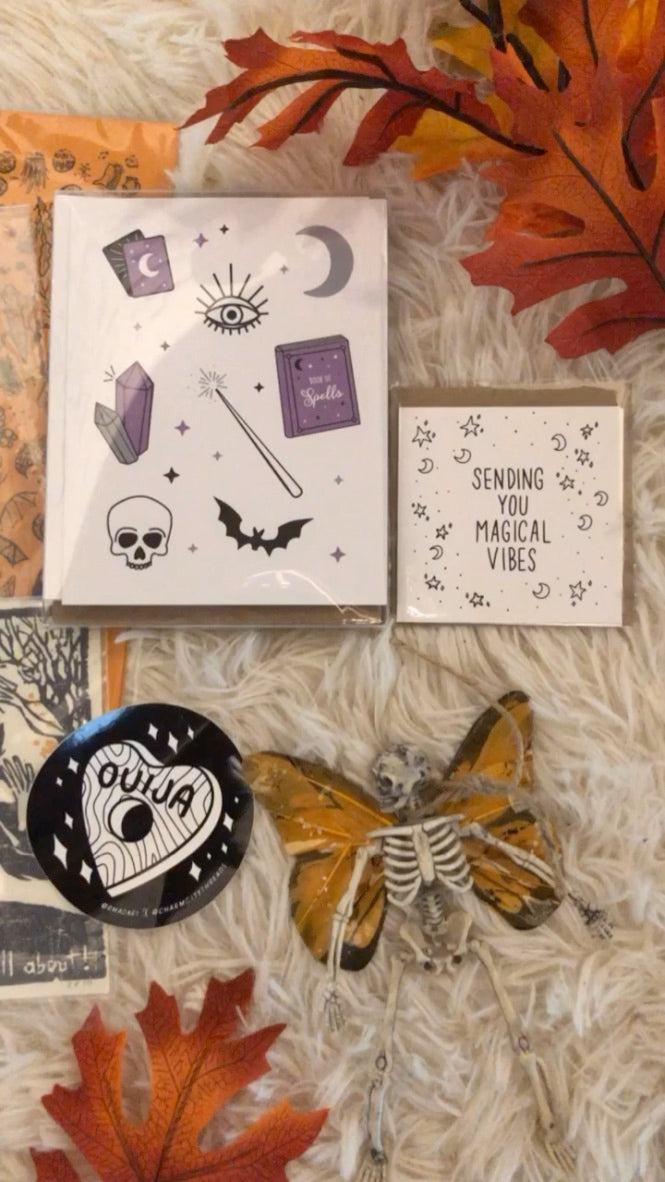 Magical Cards by Lucky Bat Paper Co.