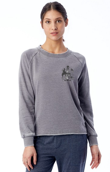TCC Lazy Day Burnout French Terry Pullover Sweatshirt - thecodexclub