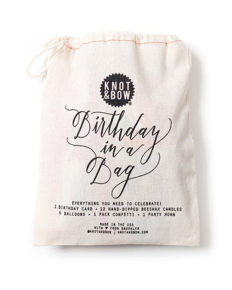 BIRTHDAY IN A BAG - thecodexclub