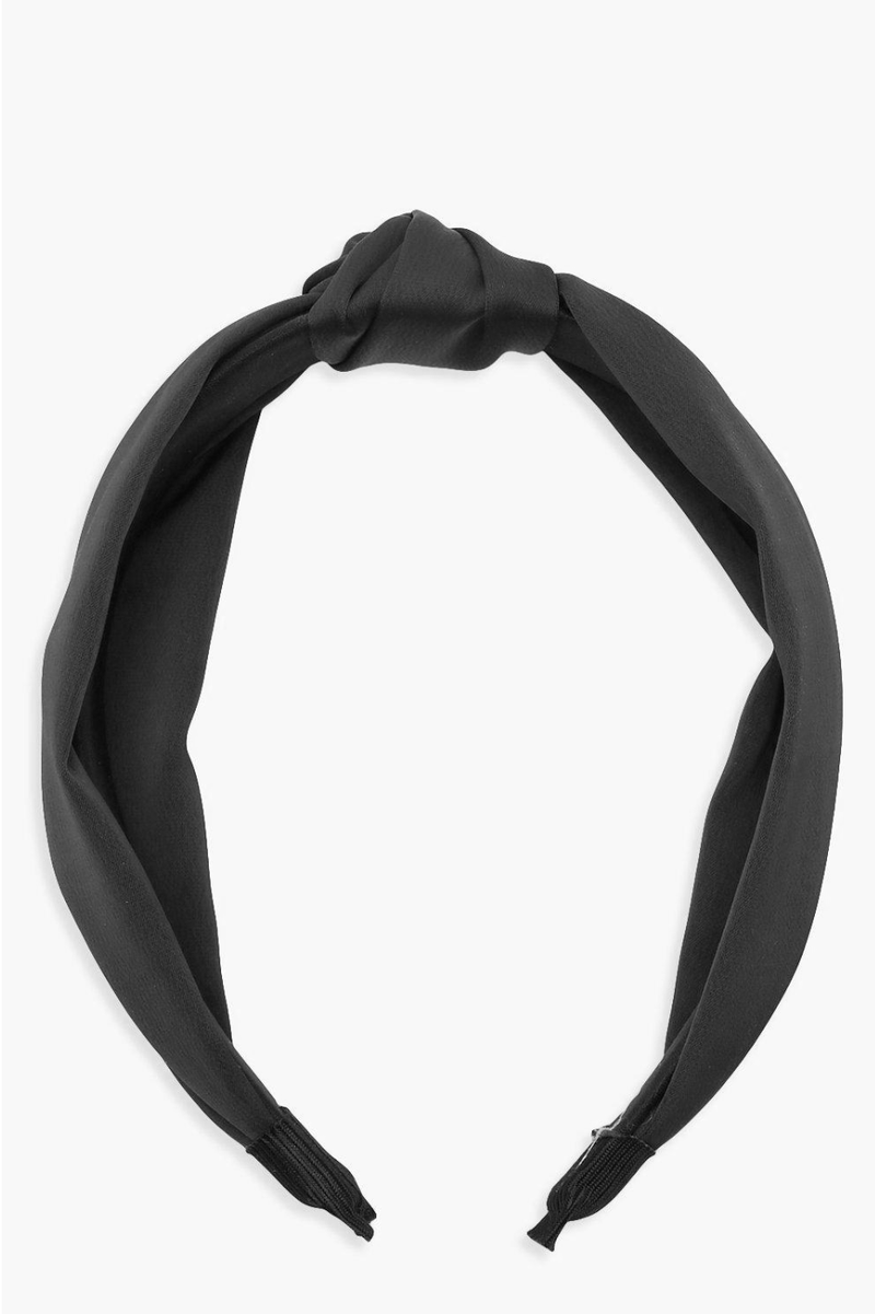 Big City Crinkle Twist Top Knot Headband