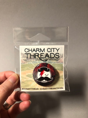 Charm City Threads Natty Bowie Pin