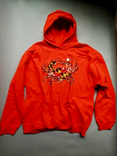 MD Crab Orange Hoodie