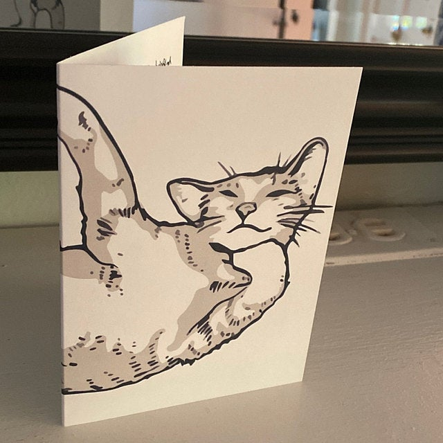Good Cat Card