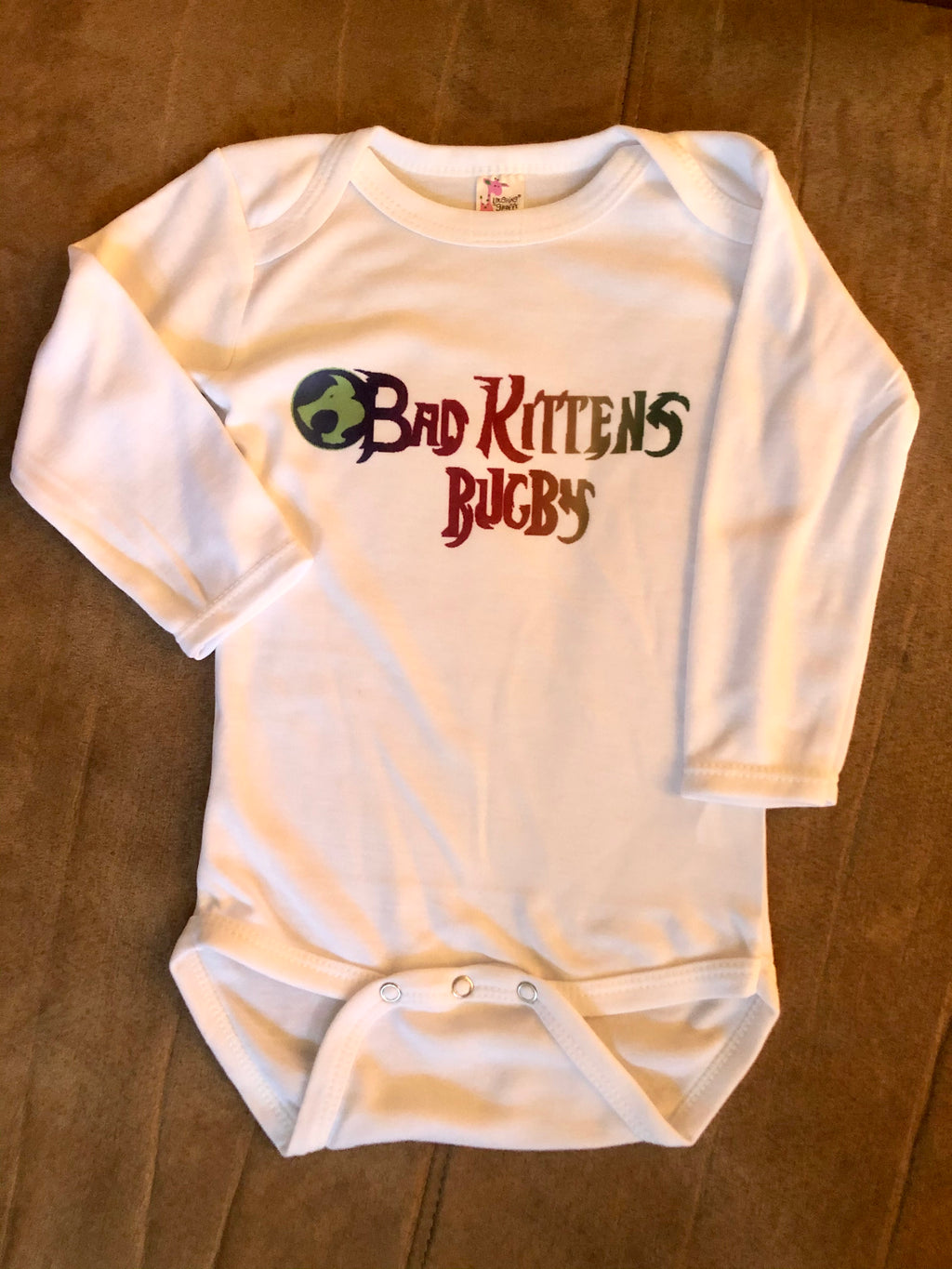 Bad Kittens Rugby Toddler Onesie