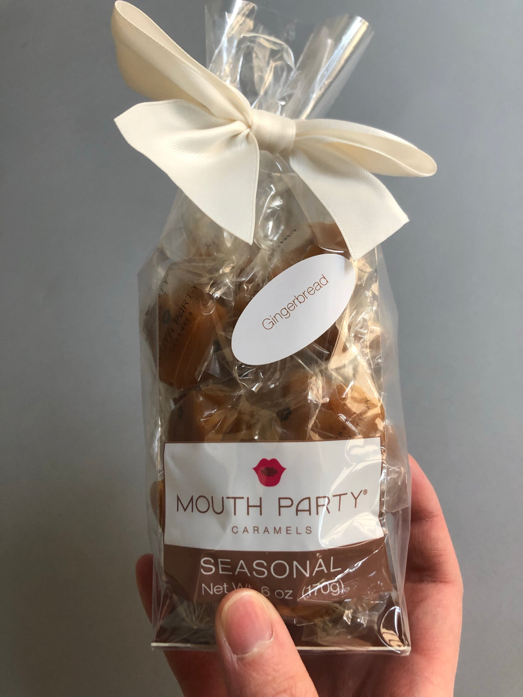 Gingerbread Gift Bag by Mouth Party Caramels