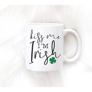15oz Kiss Me I'm Irish Mug