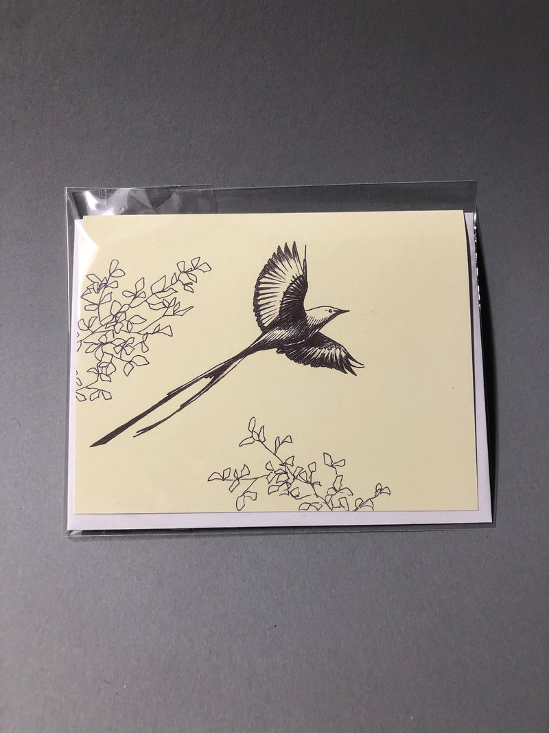 Soaring Scissortail Card, designed by Emily Heron