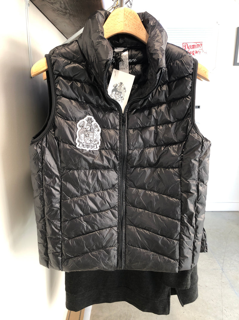 TCC Black Quilted Vest