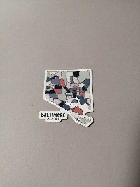 Baltimore Magnets by Nora Jayne