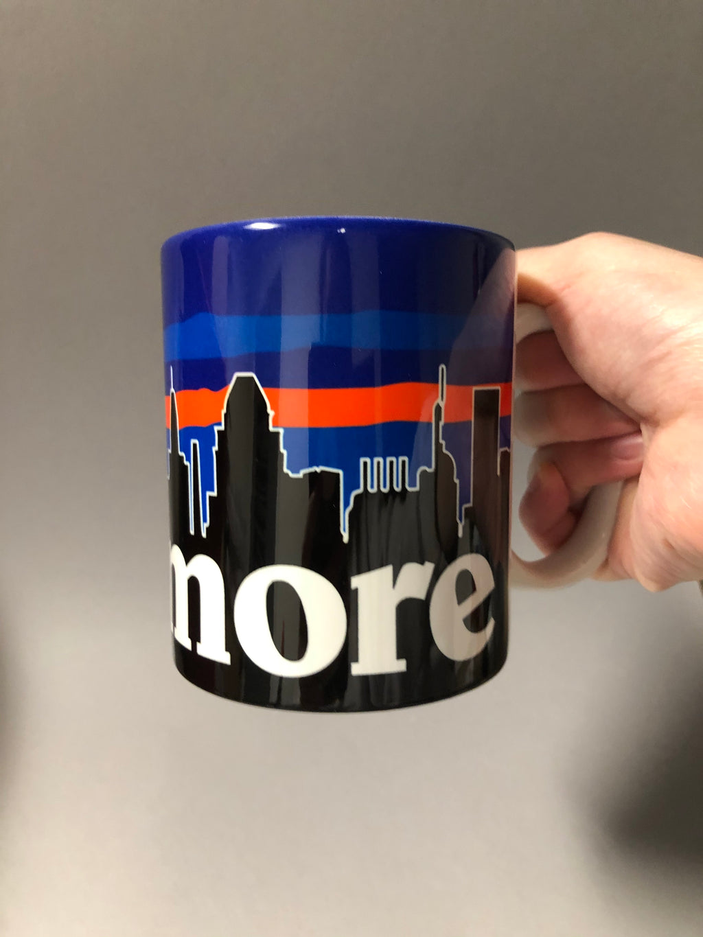 Baltimore Skyline Mug by Pangea Printing