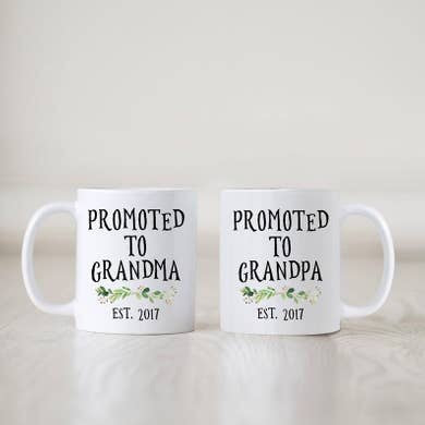 15oz Promoted to Grandma Promoted to