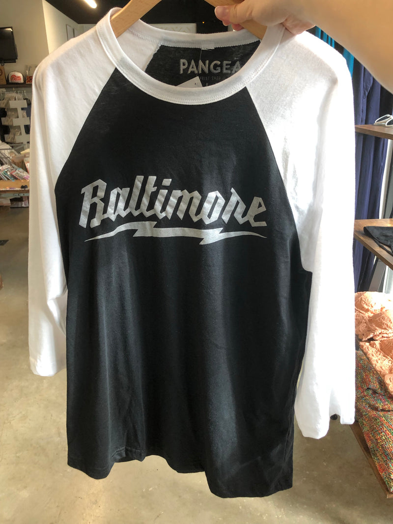 Baltimore Lightning Baseball Shirts by Pangea Printing