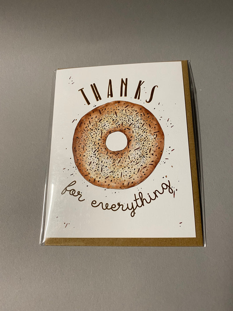 Thank You Cards by Lucky Bat Paper Co.