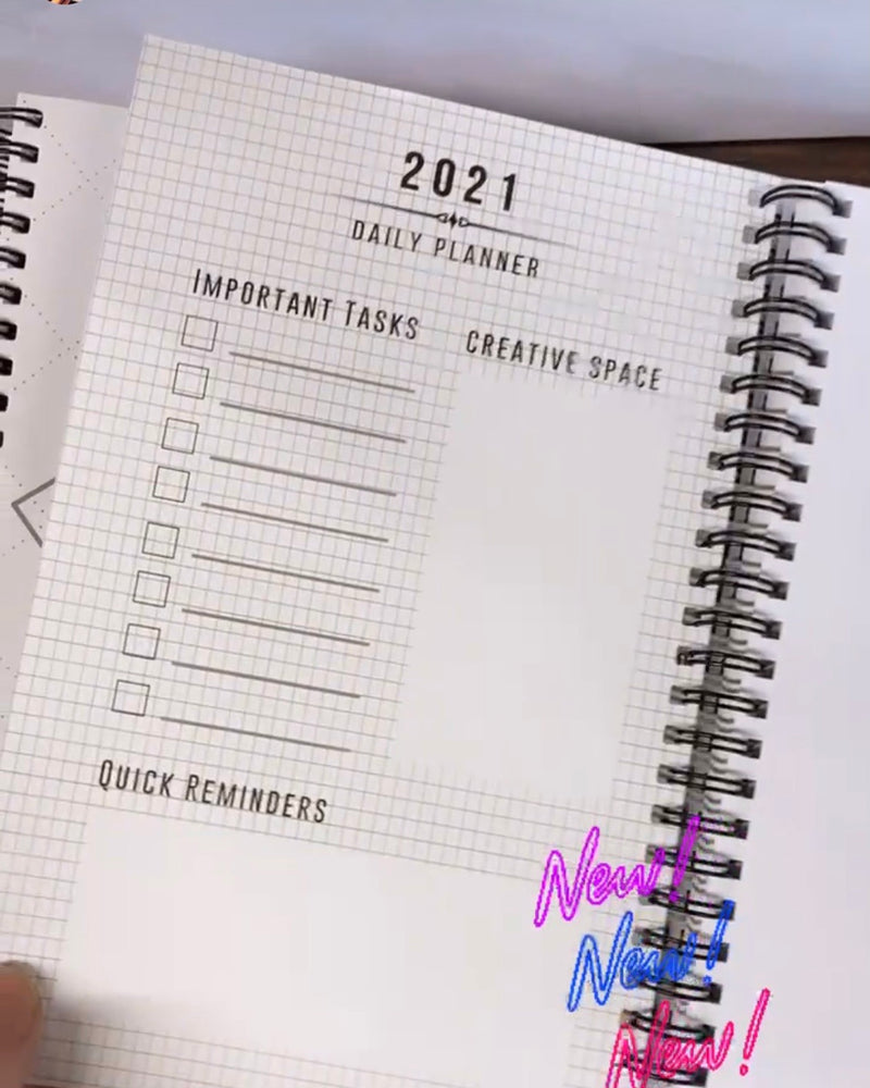 The Codex Club 2021 Notebook and Planner