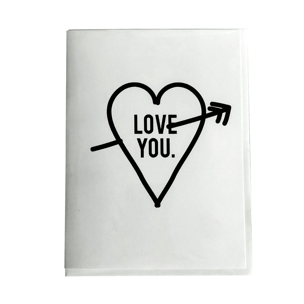 Love You. Card - thecodexclub