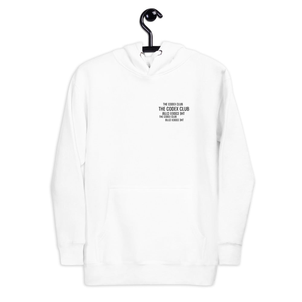 The Codex Club Hoodie (White)