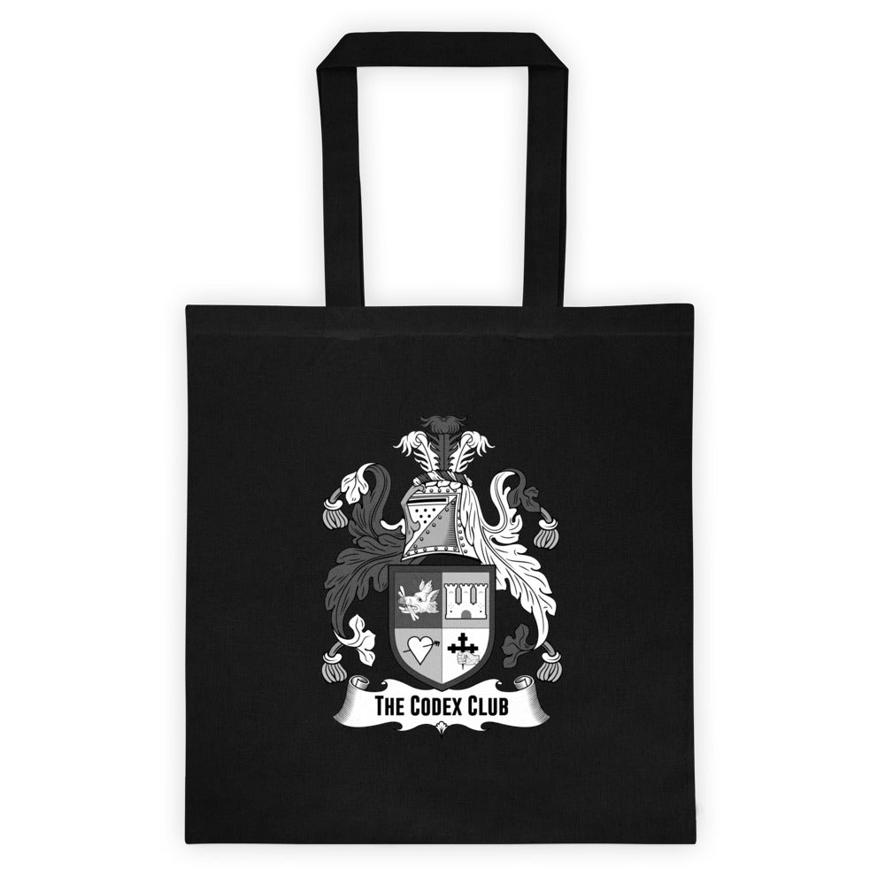 Black and White TCC Tote bag