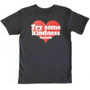 Heart Pattern Ladies Crop Top