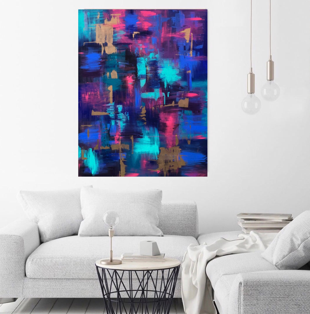 AS A MATTER OF FACT Canvas Print - Melisa Brown
