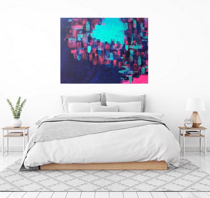 A PIECE OF PEACE Canvas Print - Melisa Brown