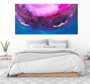 GALAXY Canvas Print - Melisa Brown