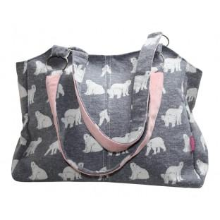 Polar bear sling bag in blue gifts for her