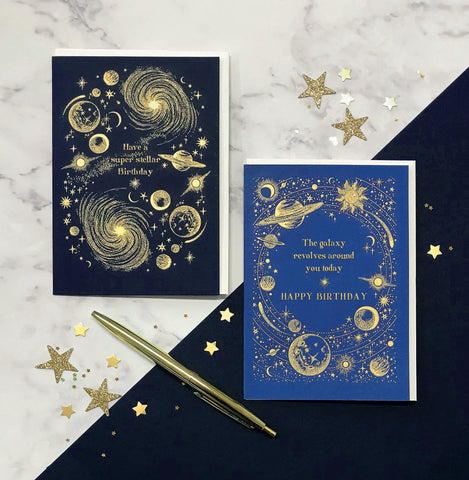 pen and note pads with a star like design