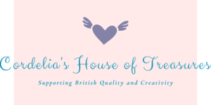 Cordelia's House Of Treasures logo - Supporting British gifts, British designed gifts, subscription boxes and independent British nrands