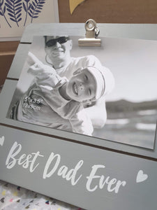 Father's photo frame
