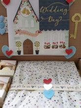 Lovely wedding box with photo album and card - Cordelia's House of Treasures