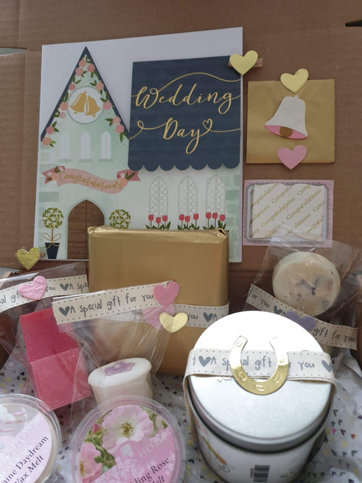 Beautiful wedding gift box
