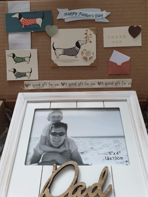 Happy Father's Day sausage dog gift box - Cordelia's House of Treasures