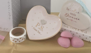 Ceramic trinket dish and heart money box - Cordelia's House of Treasures